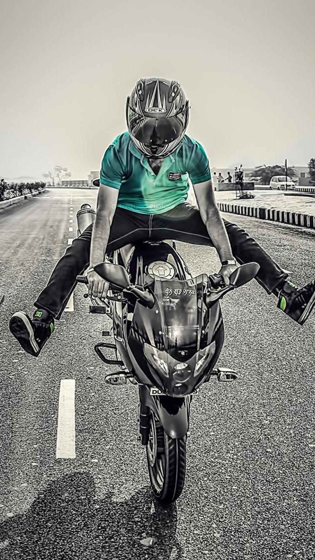 摩托车 公路 赛车 苹果手机高清壁纸 1080x1920_爱思