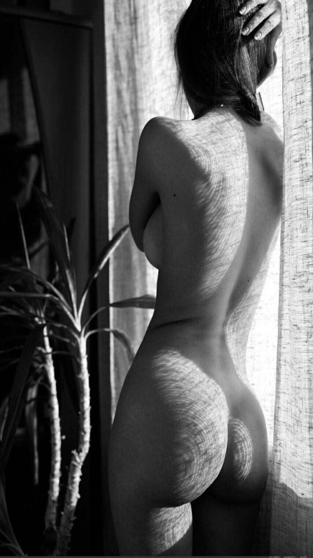 欧美 性感 美女 背影 人体艺术