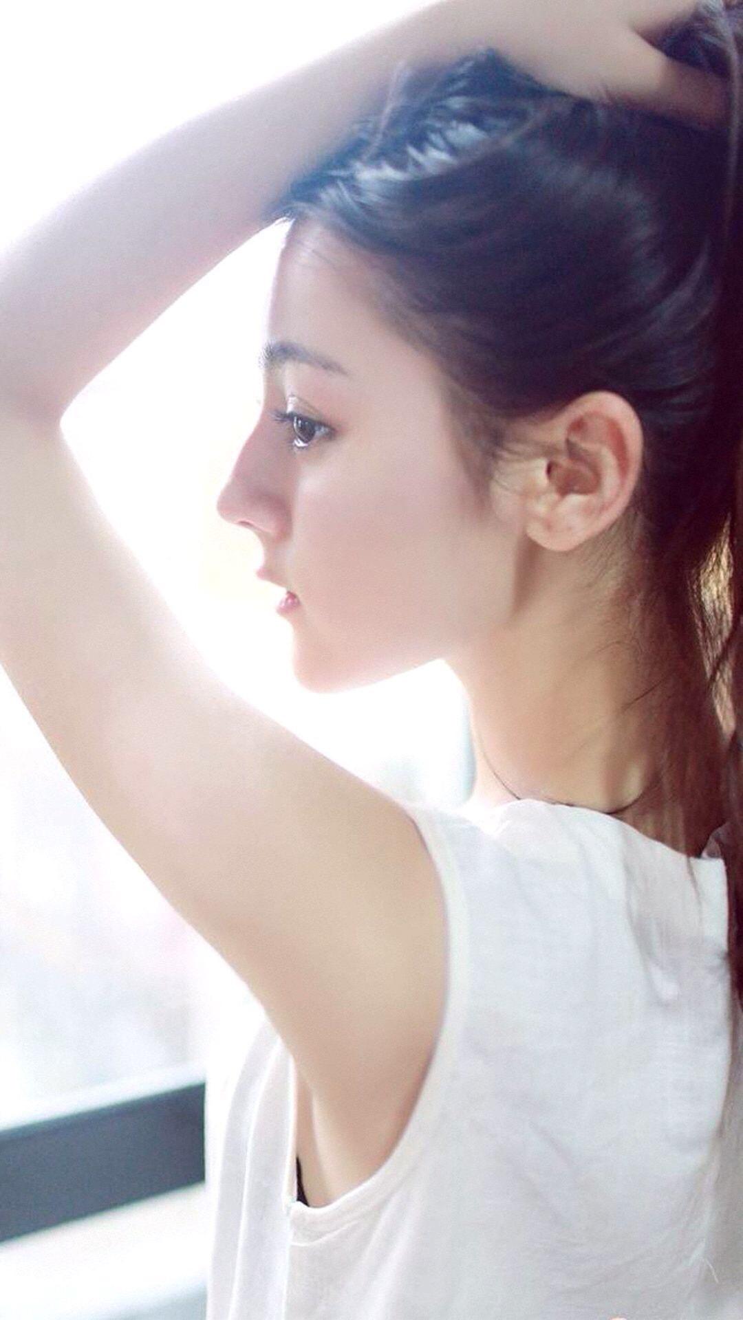 迪丽热巴 演员 明星 艺人 苹果手机高清壁纸 1080x