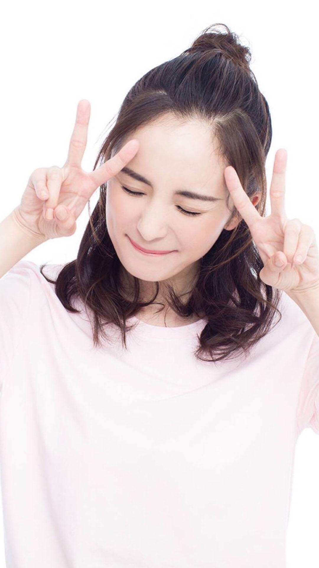 女星 杨幂 剪刀手 演员