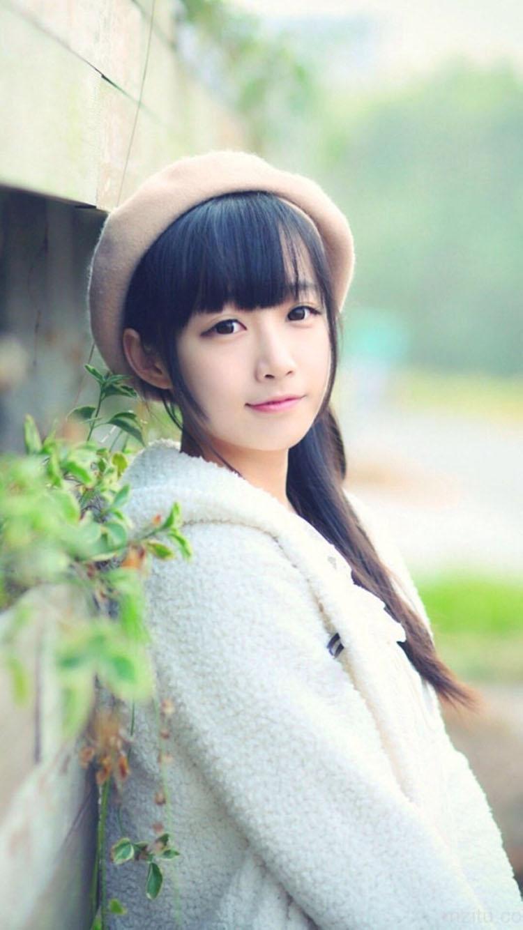 清纯可爱的女孩