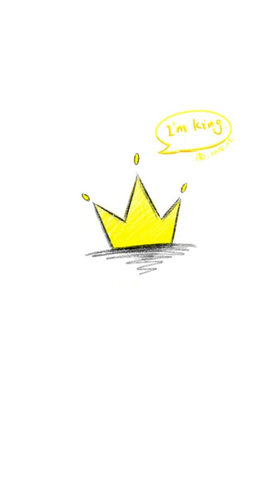 手绘小皇冠