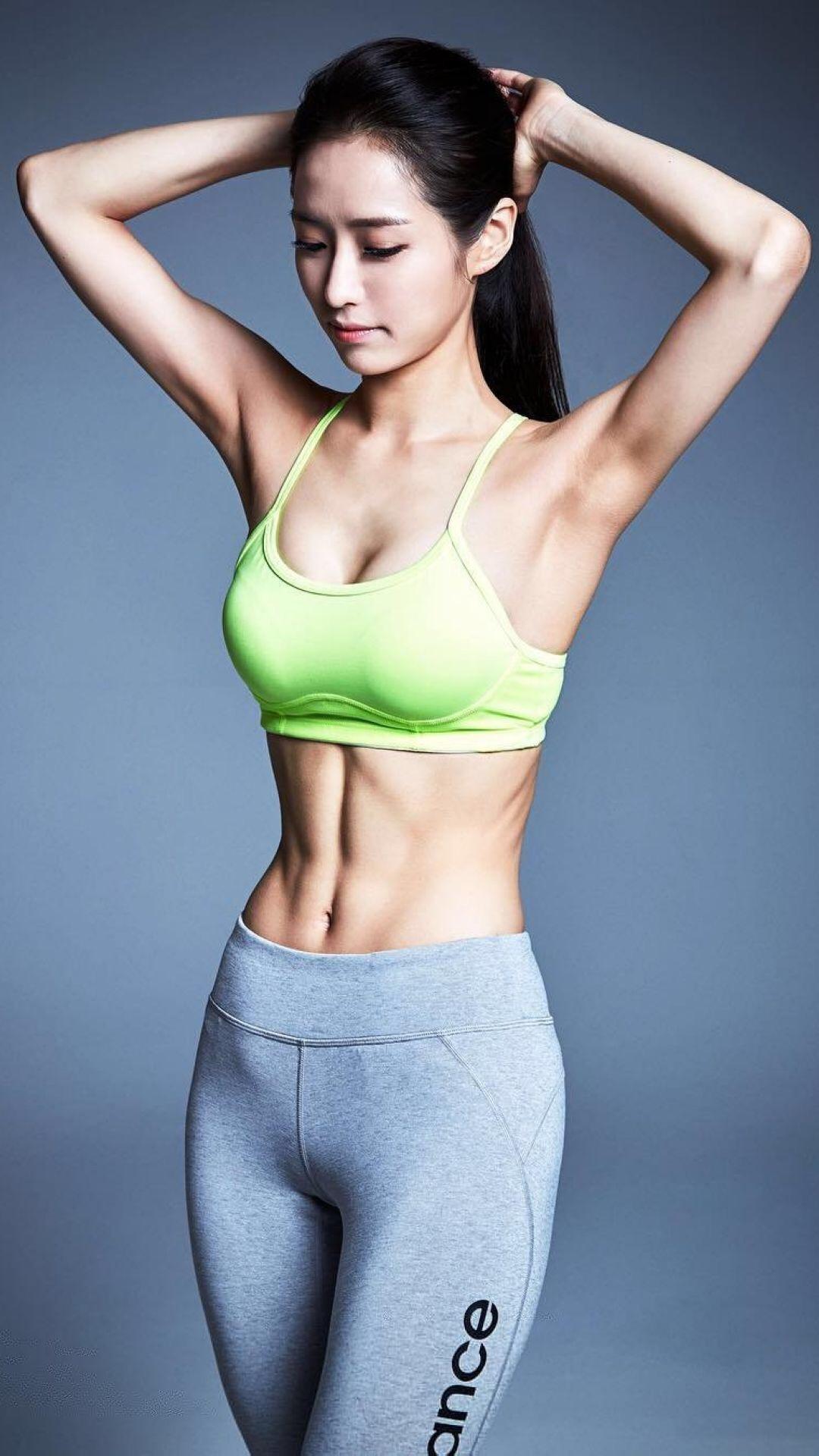 运动 女生 健身 苹果手机高清壁纸 1080x1920_爱思助手