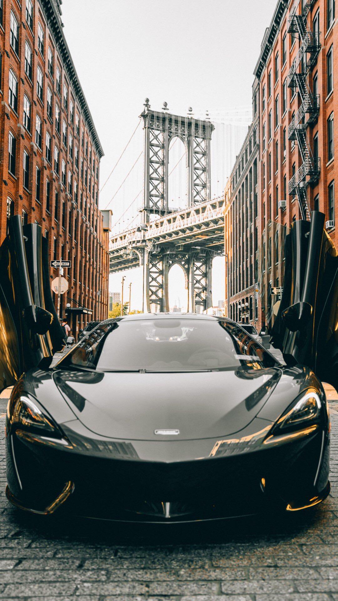 跑车 城市 苹果手机高清壁纸 1080x1920_爱思助手