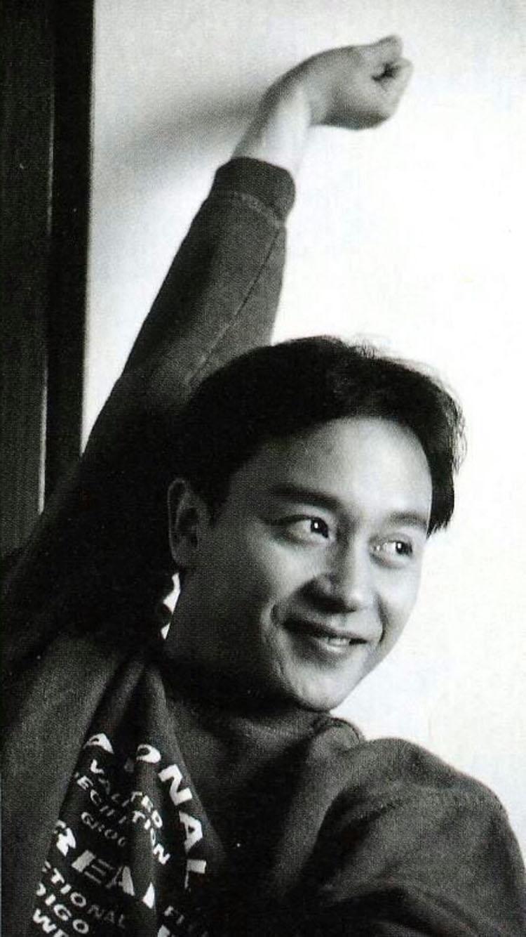 张国荣哥哥 黑白