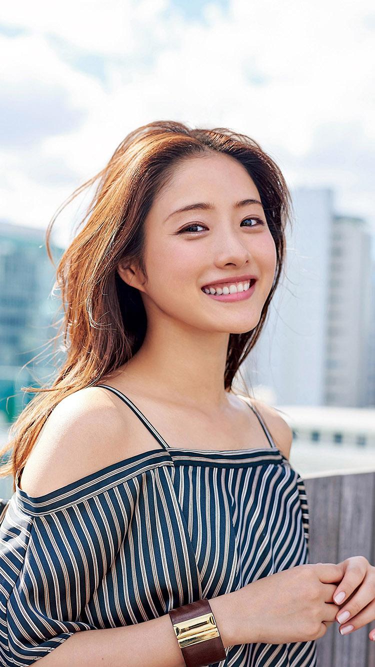 石原里美 日本 演员 苹果手机高清壁纸 750x1334_爱思