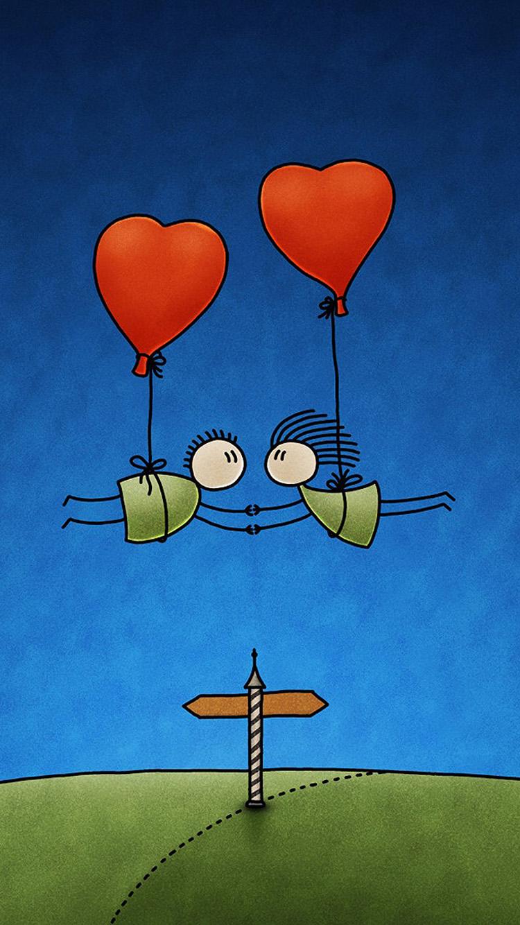 插画 手绘 创意 爱情