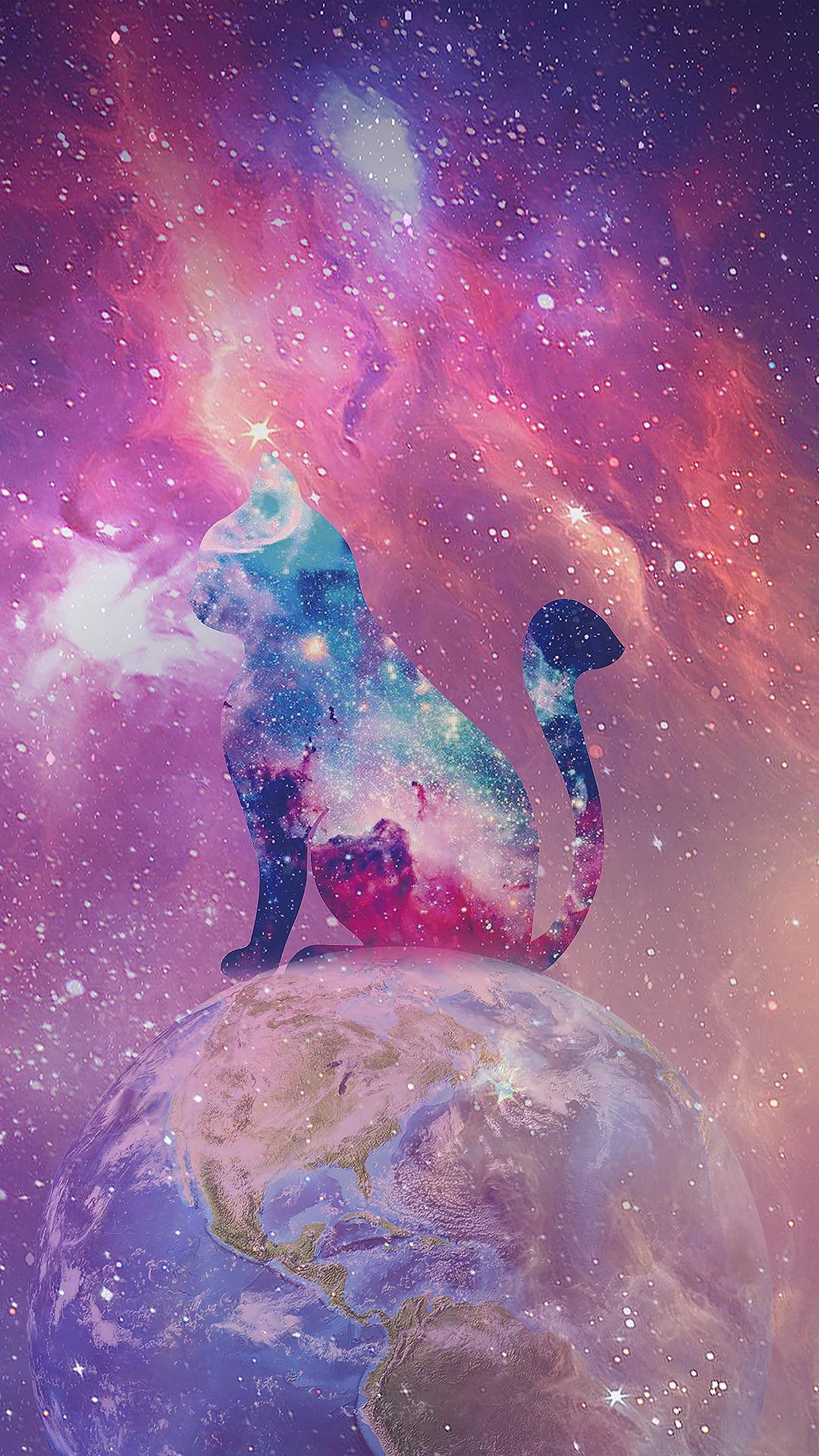 其他 梦幻星空 猫 地球