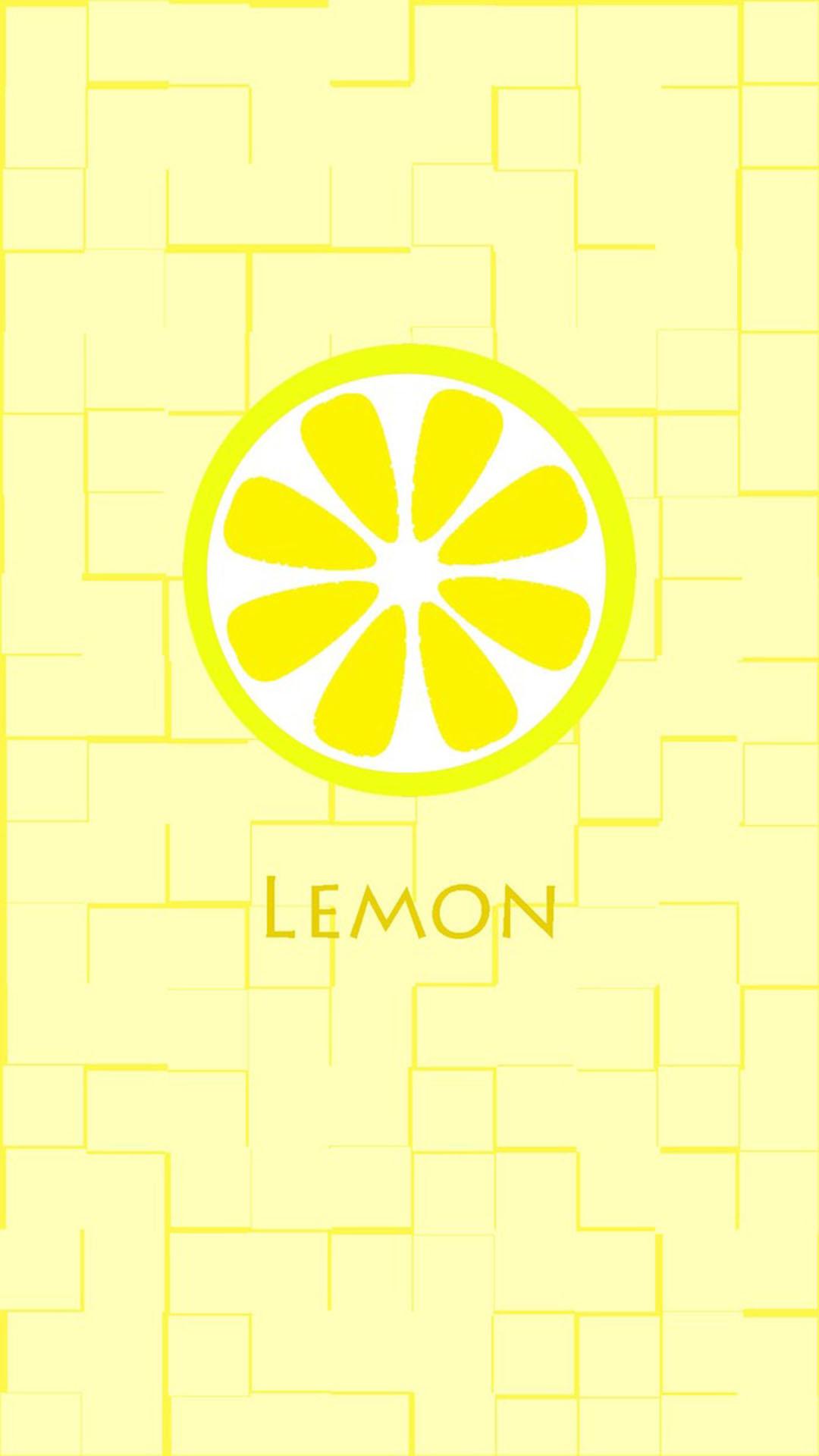 卡通 柠檬 lemon 苹果手机高清壁纸 1080x1920_爱思