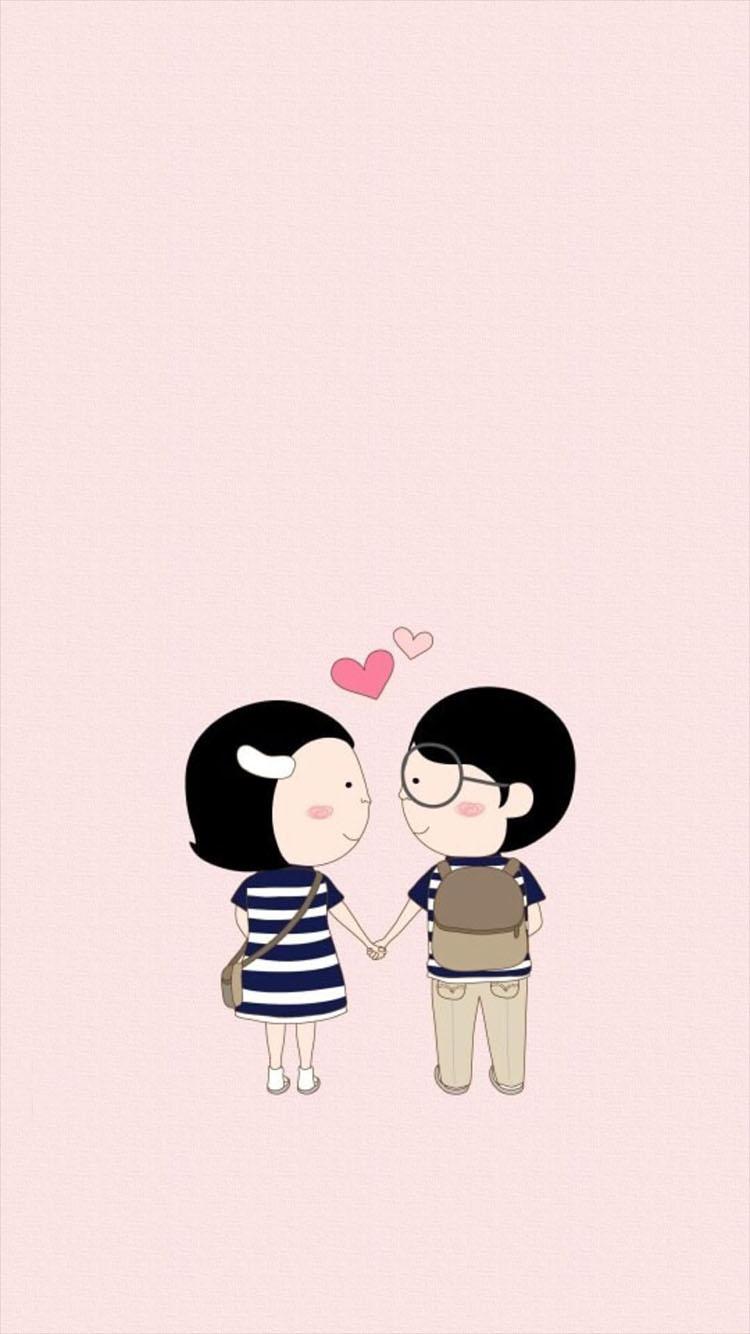 动漫 情侣 心形 爱心 爱情图片