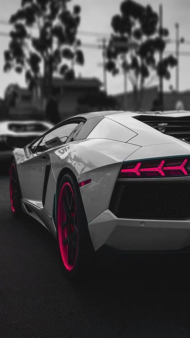 跑车 名车 超跑 黑白