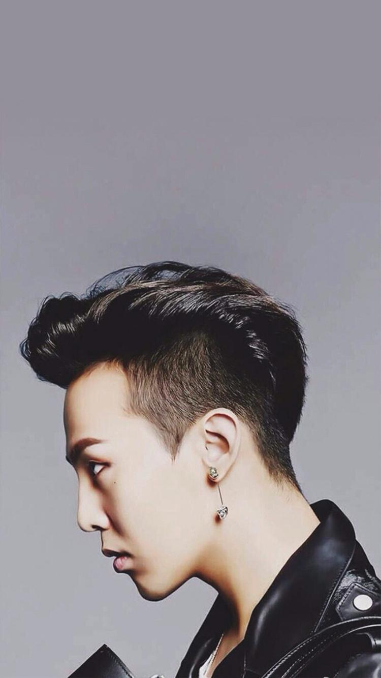 权志龙 bigbang 歌手 韩国 侧脸 明星