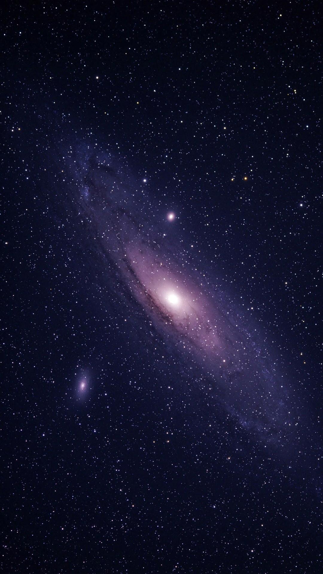 星球 宇宙 银河系 地球 苹果手机高清壁纸 1080x1920