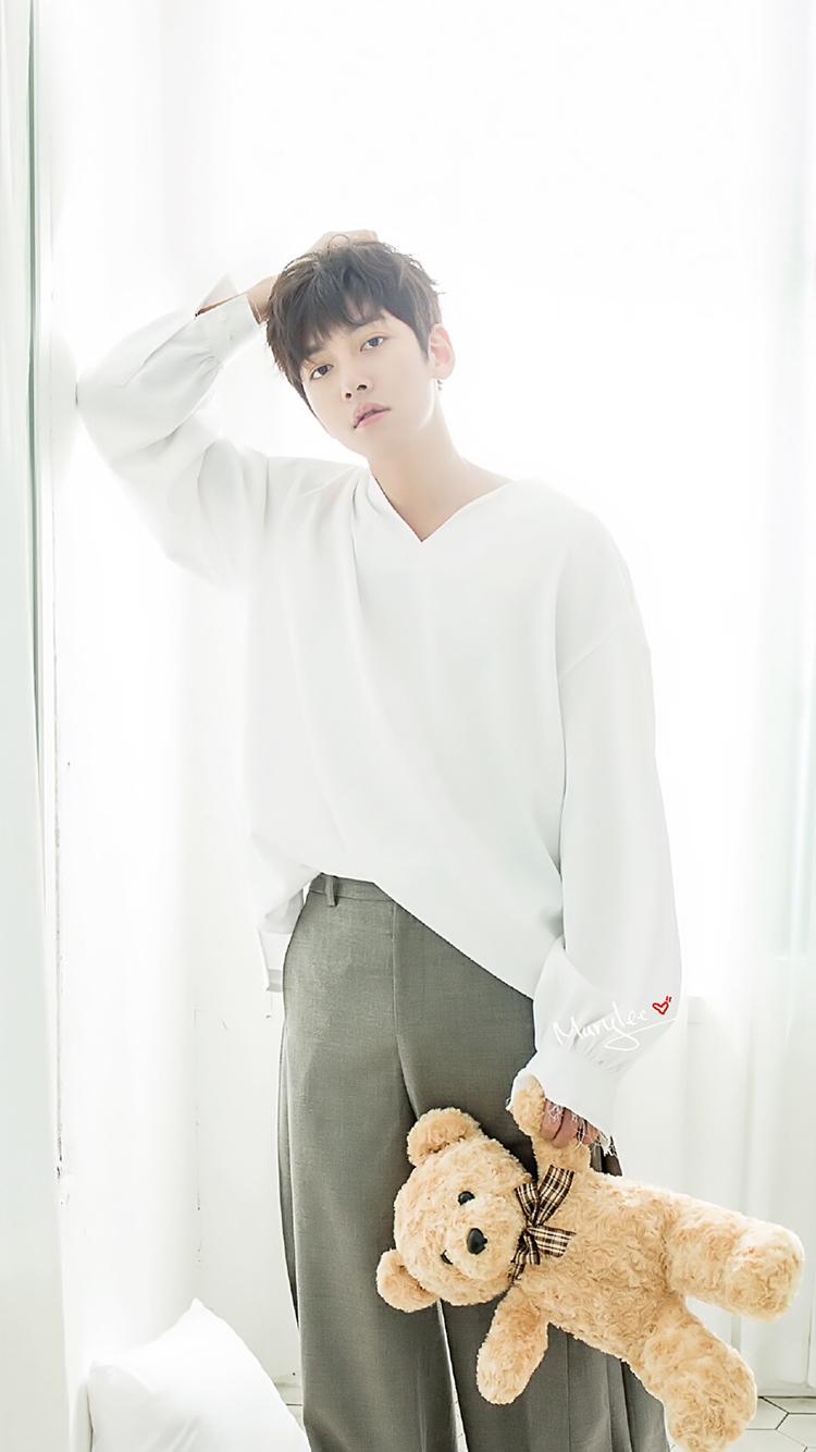 池昌旭 韩国 演员 明星 艺人 苹果手机高清壁纸 750x