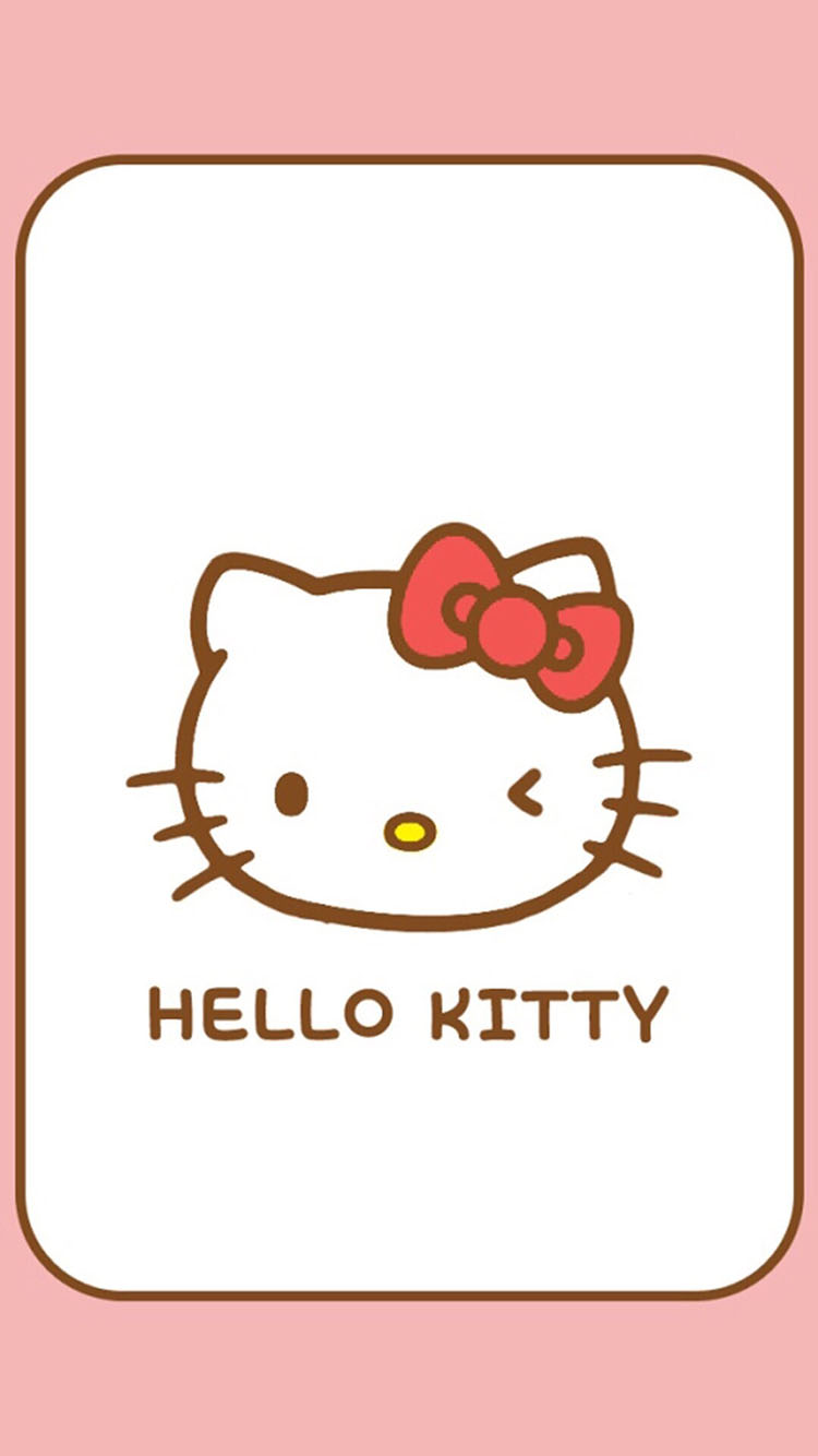 猫咪 卡通 简约 苹果手机高清壁纸 750x1334_爱思助手