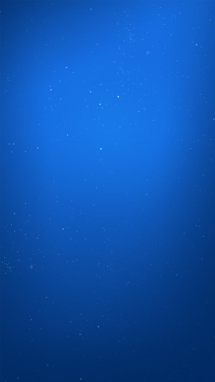 星空 纯色 蓝色 壁纸