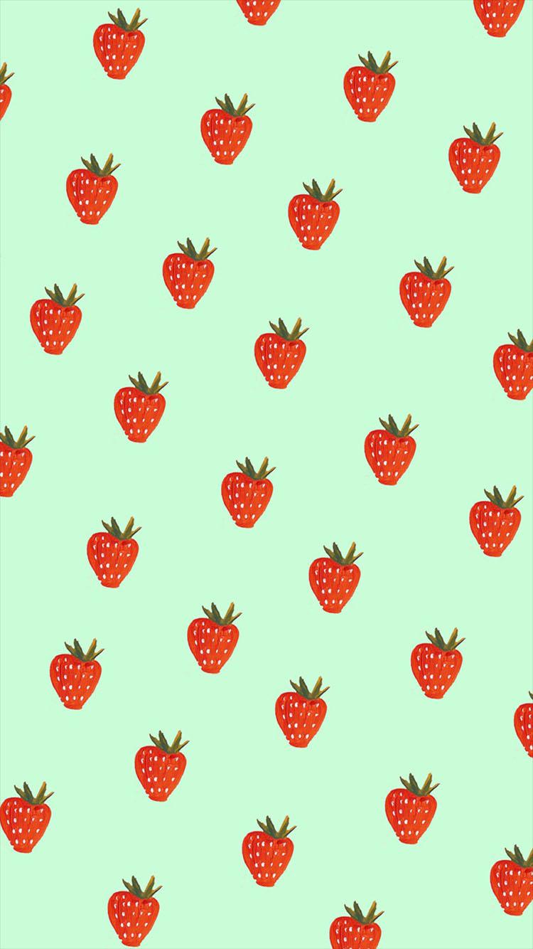 聊天背景 平铺 其他 彩色 草莓