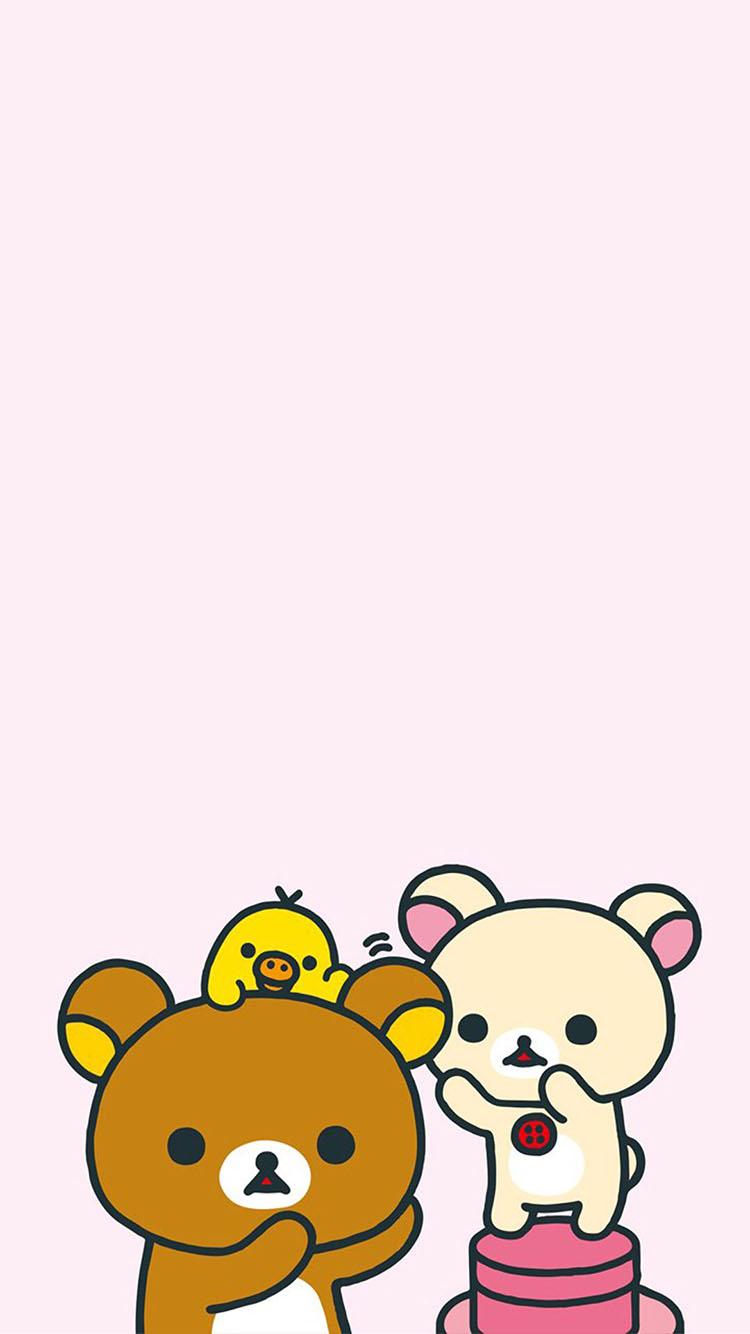 可爱熊 小黄鸡 卡通 动漫 粉