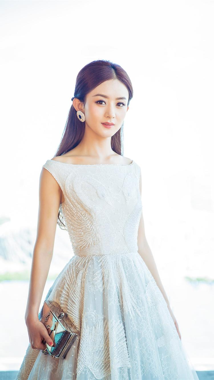 赵丽颖 演员 颖宝 明星 艺人 苹果手机高清壁纸 750x
