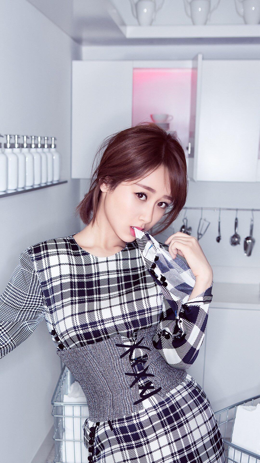 杨紫 演员 明星 艺人 童星 苹果手机高清壁纸 1080x