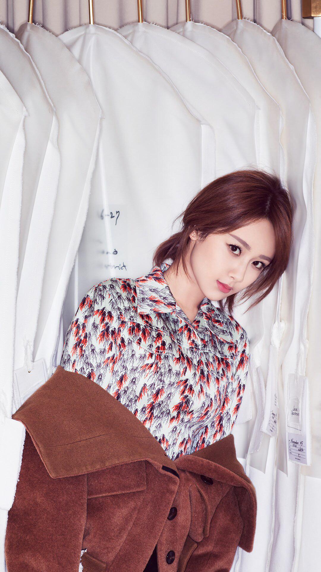 杨紫 演员 明星 童星 艺人 苹果手机高清壁纸 1080x