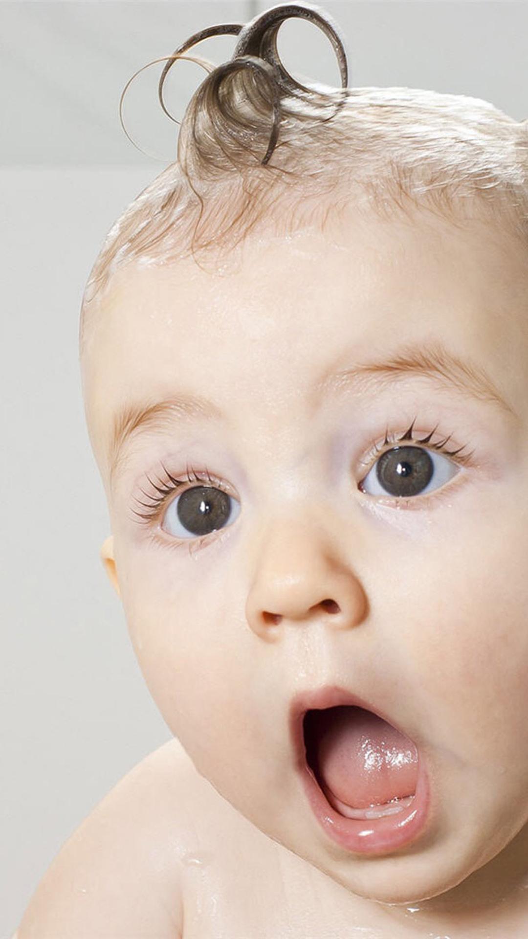 萌娃 欧美 可爱 大眼睛