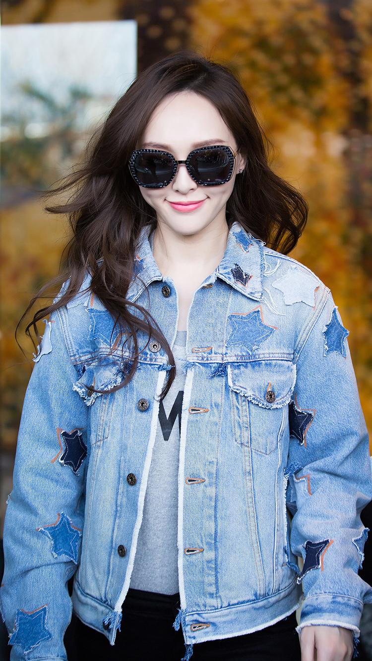 尹善英 女生 韩国 美女 苹果手机高清壁纸 750x1334
