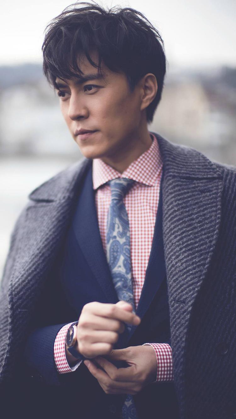 吴亦凡 演员 歌手 明星 帅气 苹果手机高清壁纸 750x