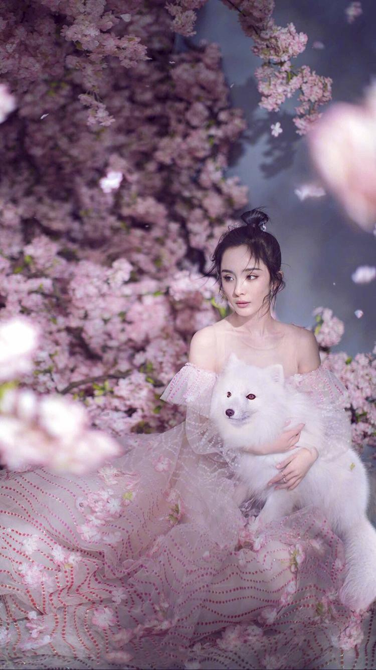 美女颜丹晨最新时尚大片 苹果手机高清壁纸 750x1334