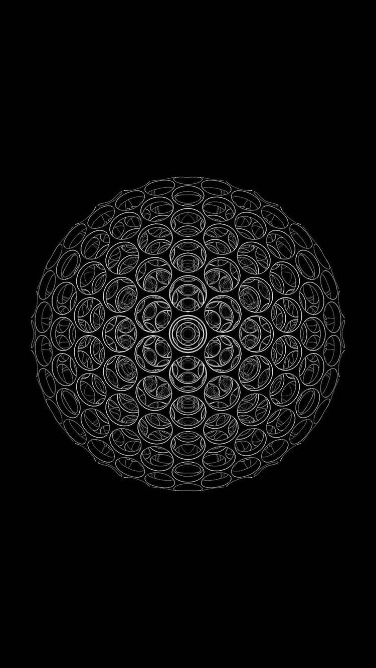 炫酷简约设计黑色手机壁纸汇集 黑色炫酷闪光科技背景素材