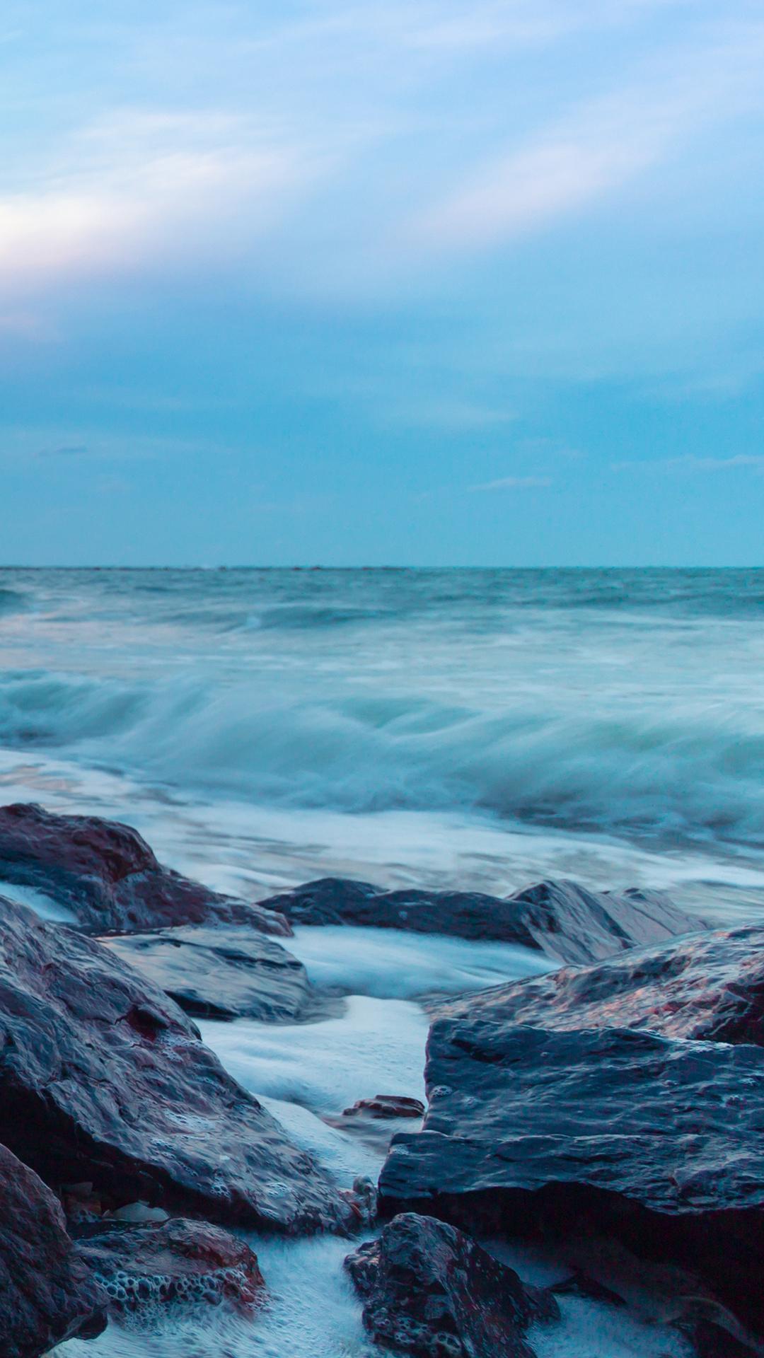 沙滩 海滨 海水 沿岸 海边 壮观 大海 海浪