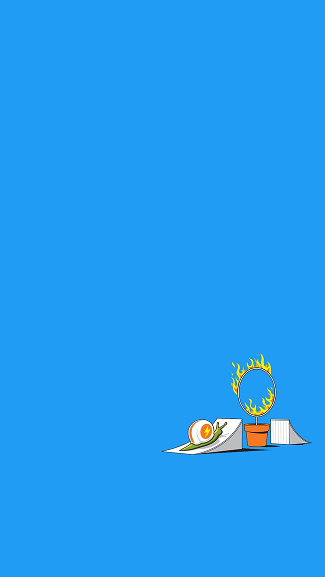 UFO 手绘 外星人 英文 苹果手机高清壁纸 1080x1920 爱思助手