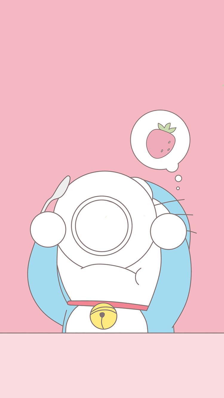 哆啦a梦 叮当猫 粉色 可爱 卡通 漫画 动画 吃