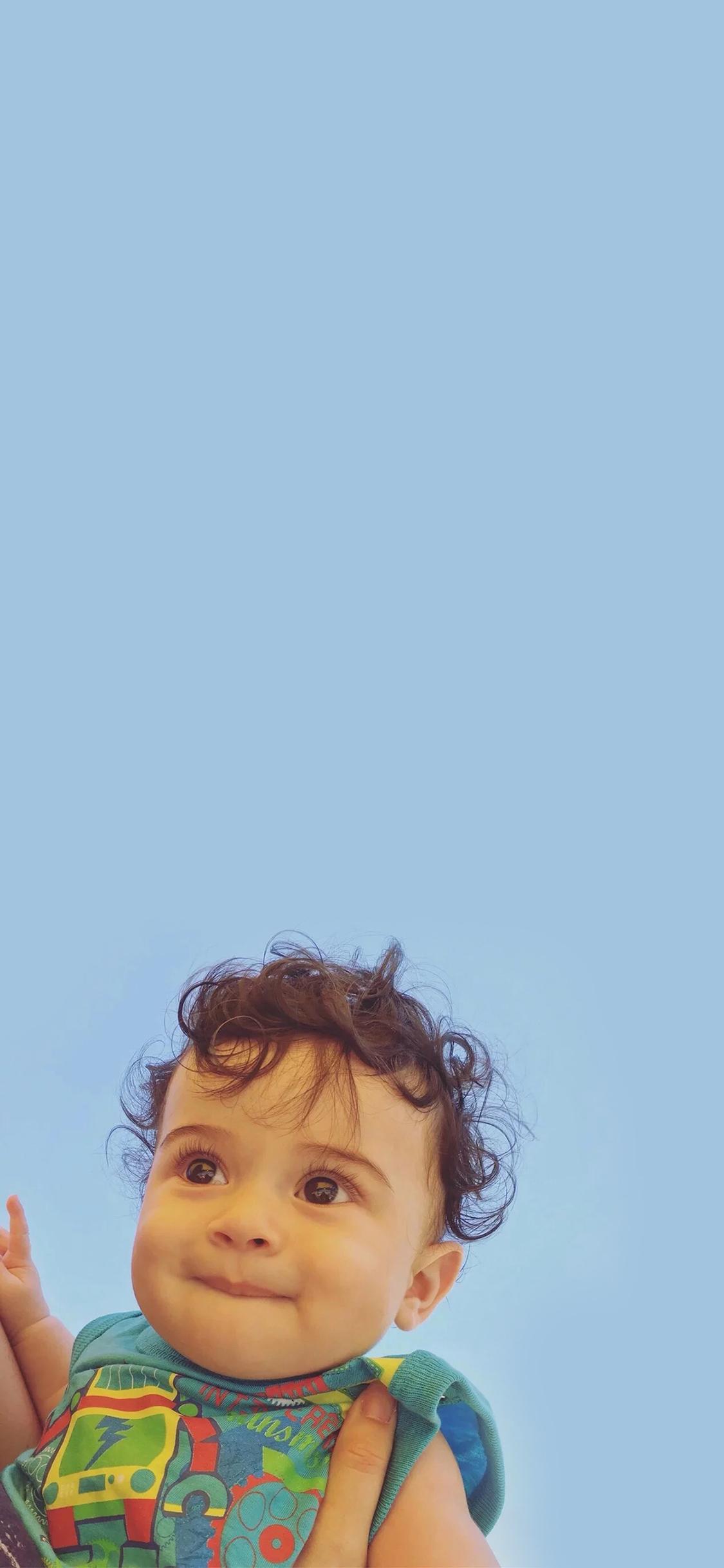 小卷毛 欧美 萌宝 可爱 小孩 儿童 大眼睛 宝宝