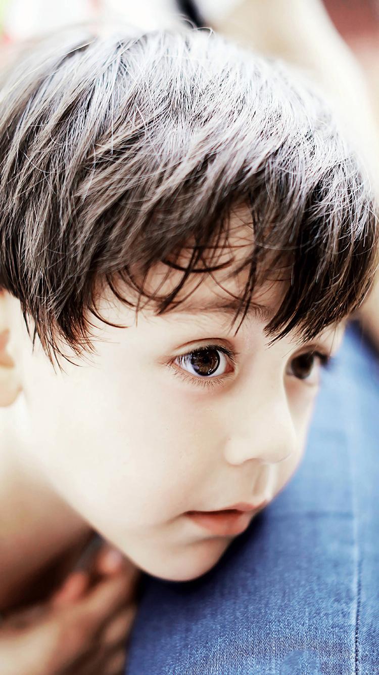 刘诺一 小男孩 混血 可爱 大眼睛 孩子