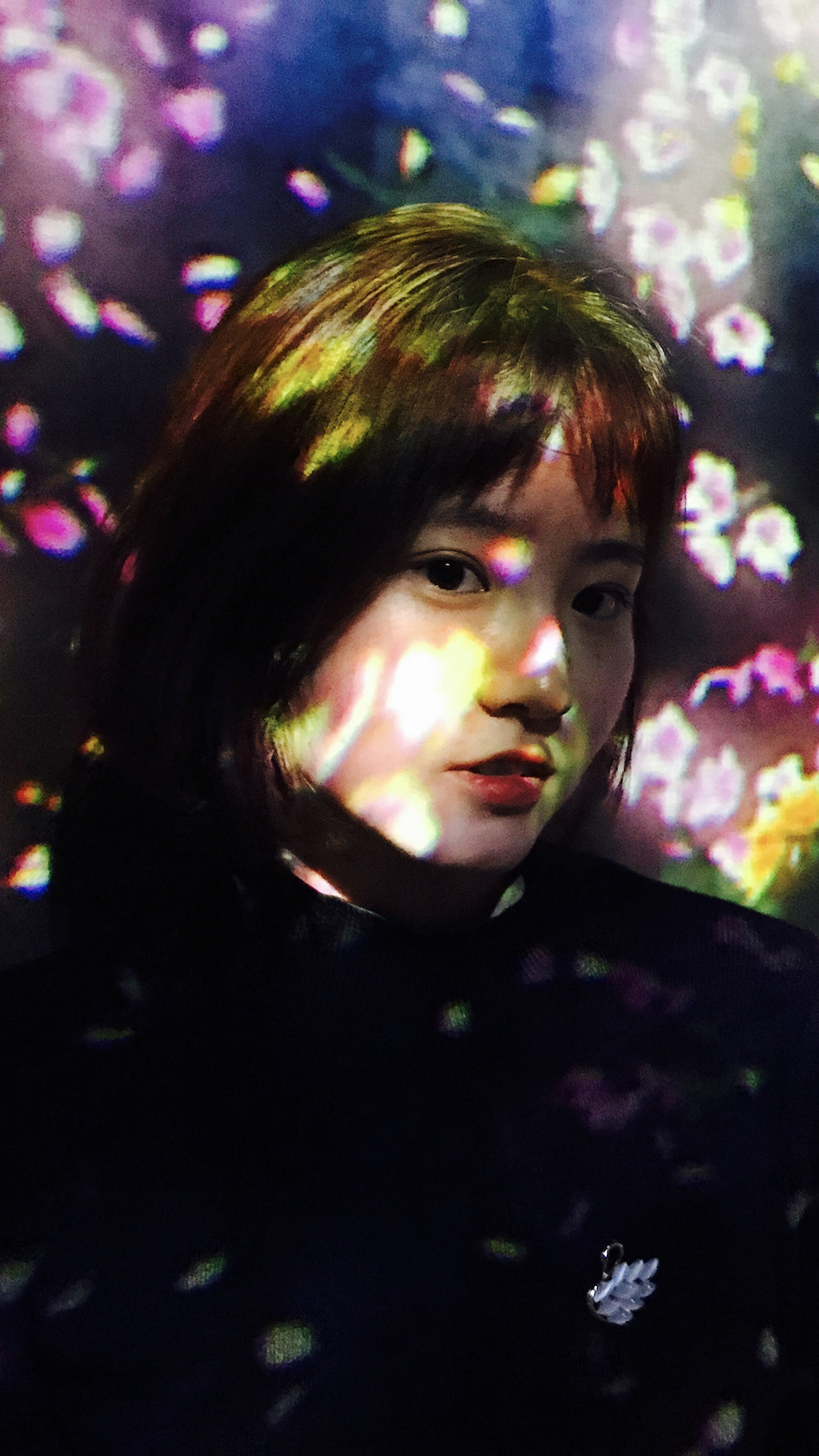 迪丽热巴 艺人 演员 胖迪 明星 时尚 苹果手机高清壁纸 1080x1920 爱思助手