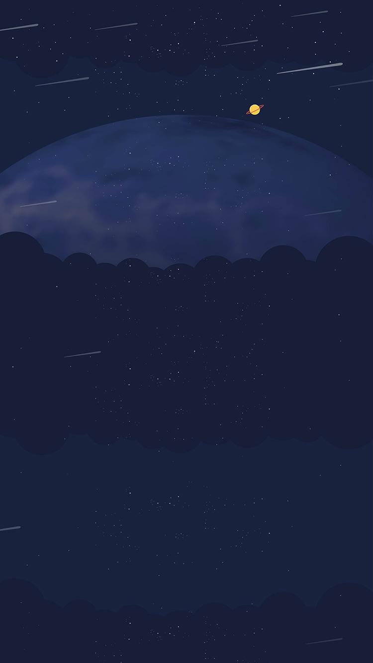 流星 夜空 星空 宇宙 蓝色