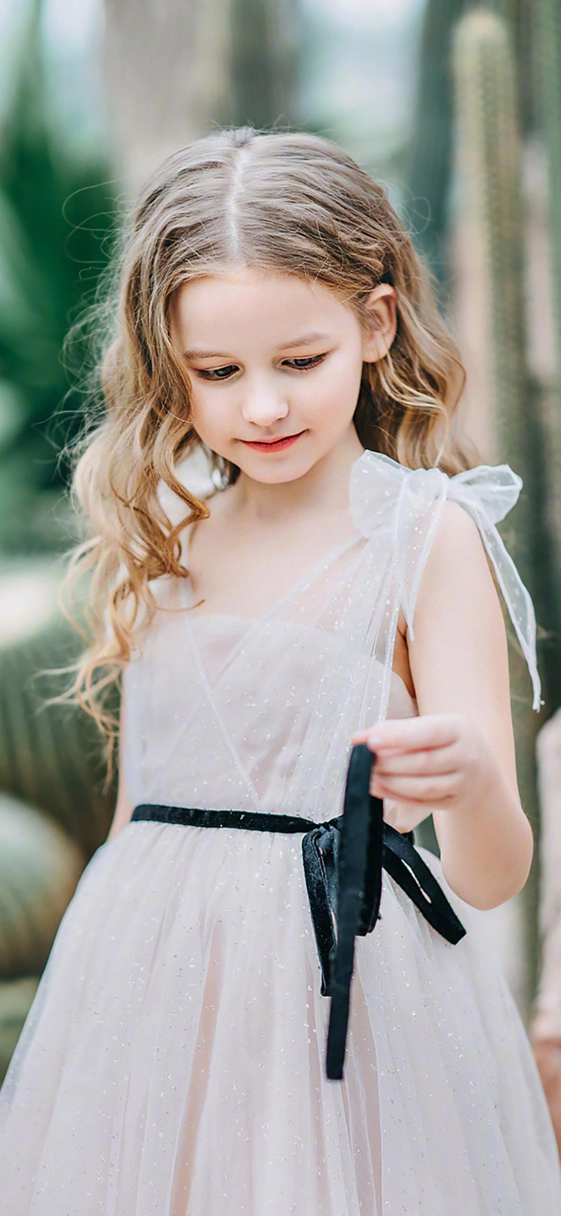 小模特 小女孩 欧美 时尚 裙子 儿童