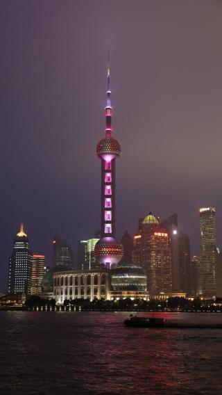 上海 东方明珠 城市