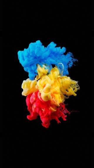 彩色 颜料