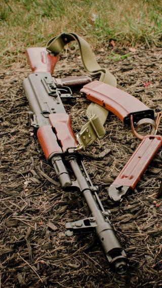 军用长枪 手枪 军事 战争 武器