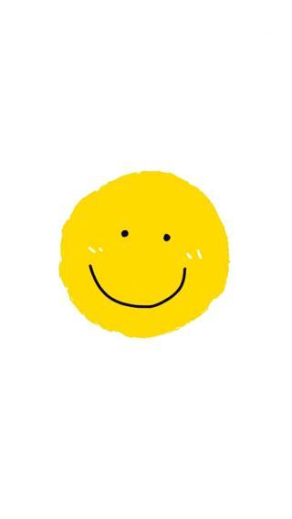 黄色微笑脸表情