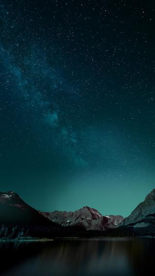 星空 夜空 唯美