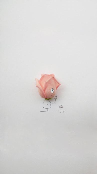 花瓣 创意 卡通