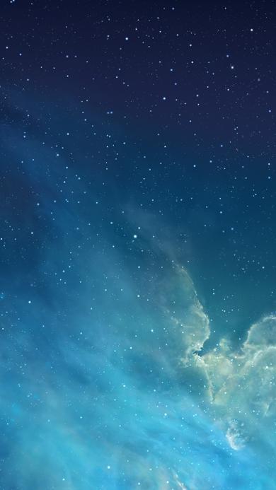 星空 夜空 梦幻 蓝色