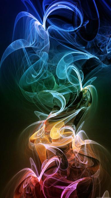 烟雾 创意 科技 深色
