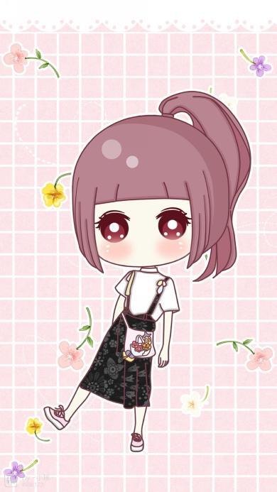 小希 卡通日本动漫 粉色