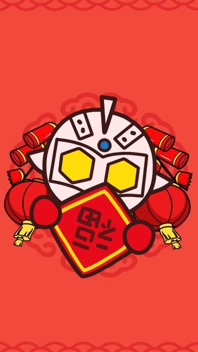 福字 红色 拜年 过年
