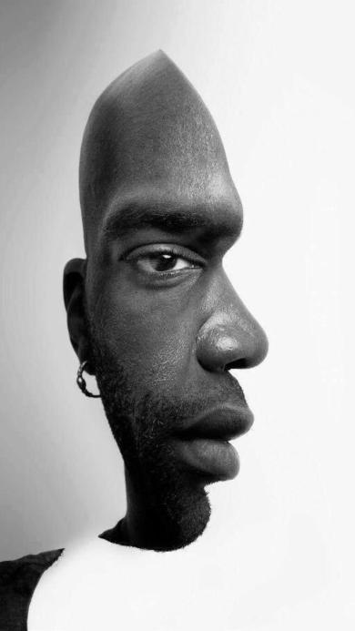 创意角度拍摄 欧美型男 黑白