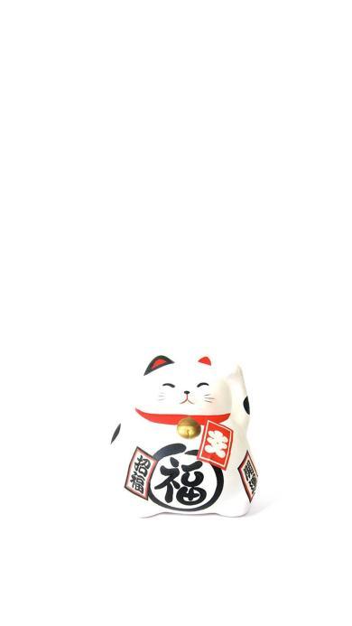 招财猫 福 招福 开运 铃铛